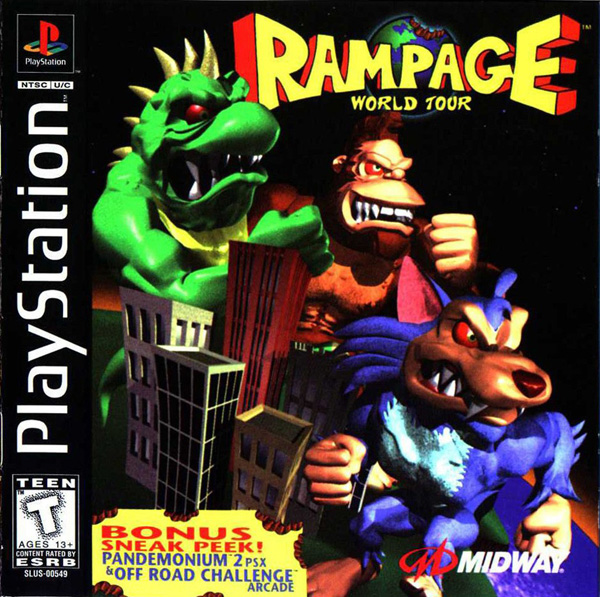 Rampage World Tour [U] Front Cover